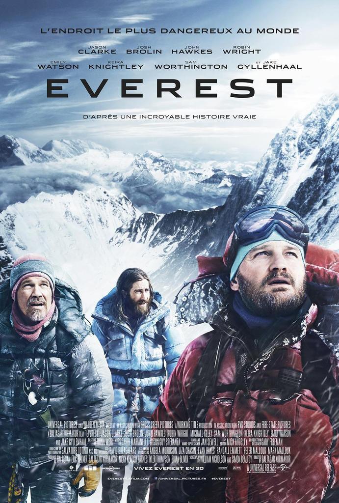 """""""EVEREST"""" : LA BANDE-ANNONCE SPECTACULAIRE DU FILM AU CASTING 5 ETOILES !"""