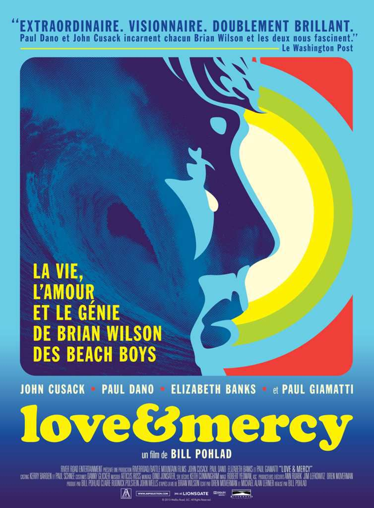 """LOVE & MERCY"", LE BIOPIC DU LEADER DES BEACH BOYS"