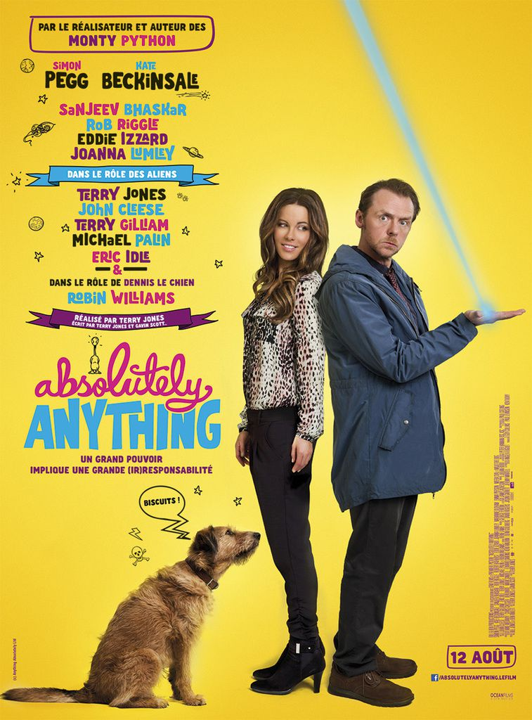 """Absolutely Anything"" de Terry Jones"