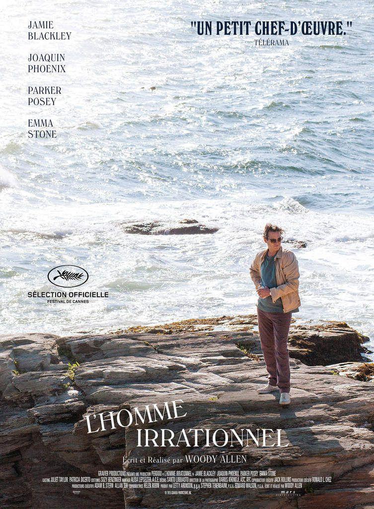 """""""L'HOMME IRRATIONNEL"""": LA BANDE-ANNONCE DU NOUVEAU FILM DE WOODY ALLEN"""