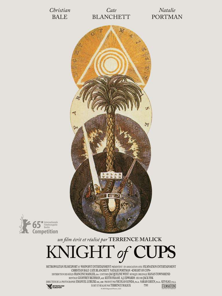 """KNIGHT OF CUPS"": BANDE-ANNONCE DU FILM DE TERRENCE MALICK SELECTIONNÉ À DEAUVILLE"
