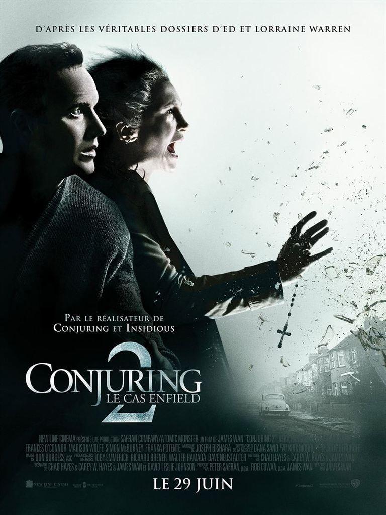 """""""CONJURING 2: LA CAS ENFIELD"""", LA VÉRITABLE HISTOIRE..."""