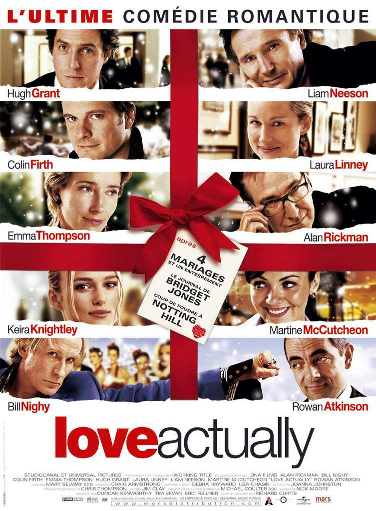 "CRITIQUE: ""LOVE ACTUALLY"", MERRY CHRISTMAS !"