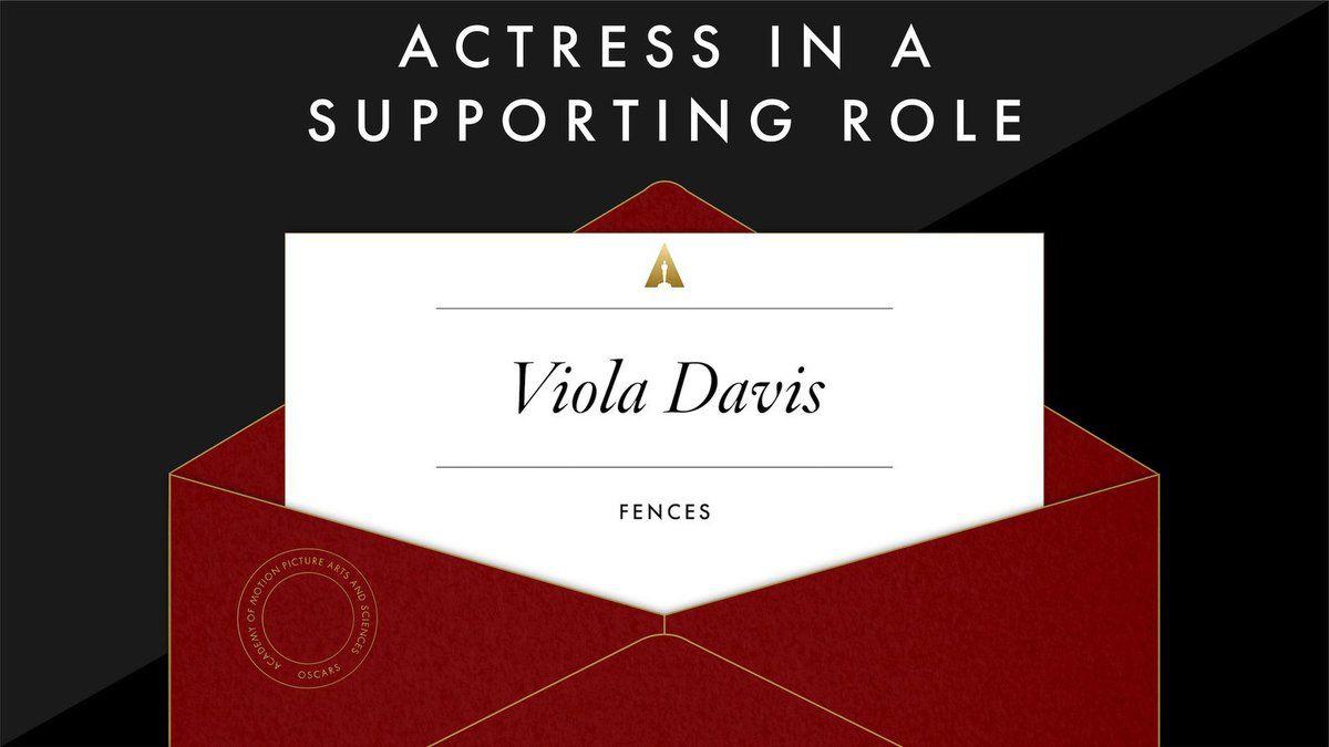 Meilleure actrice dans un second rôle: Viola Davis