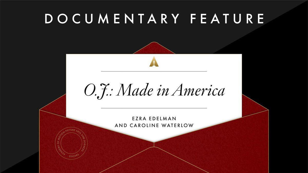 Meilleur documentaire: O.J.: Made In America