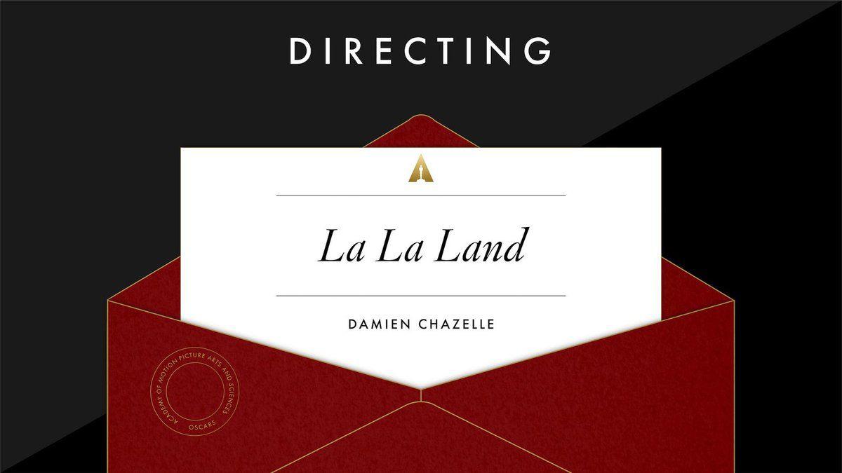Meilleur réalisateur: Damien Chazelle
