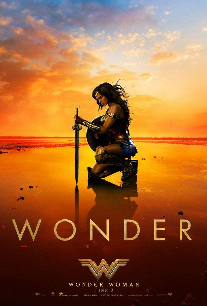 """""""WONDER WOMAN"""", NOUVELLE BANDE-ANNONCE ET AFFICHE"""