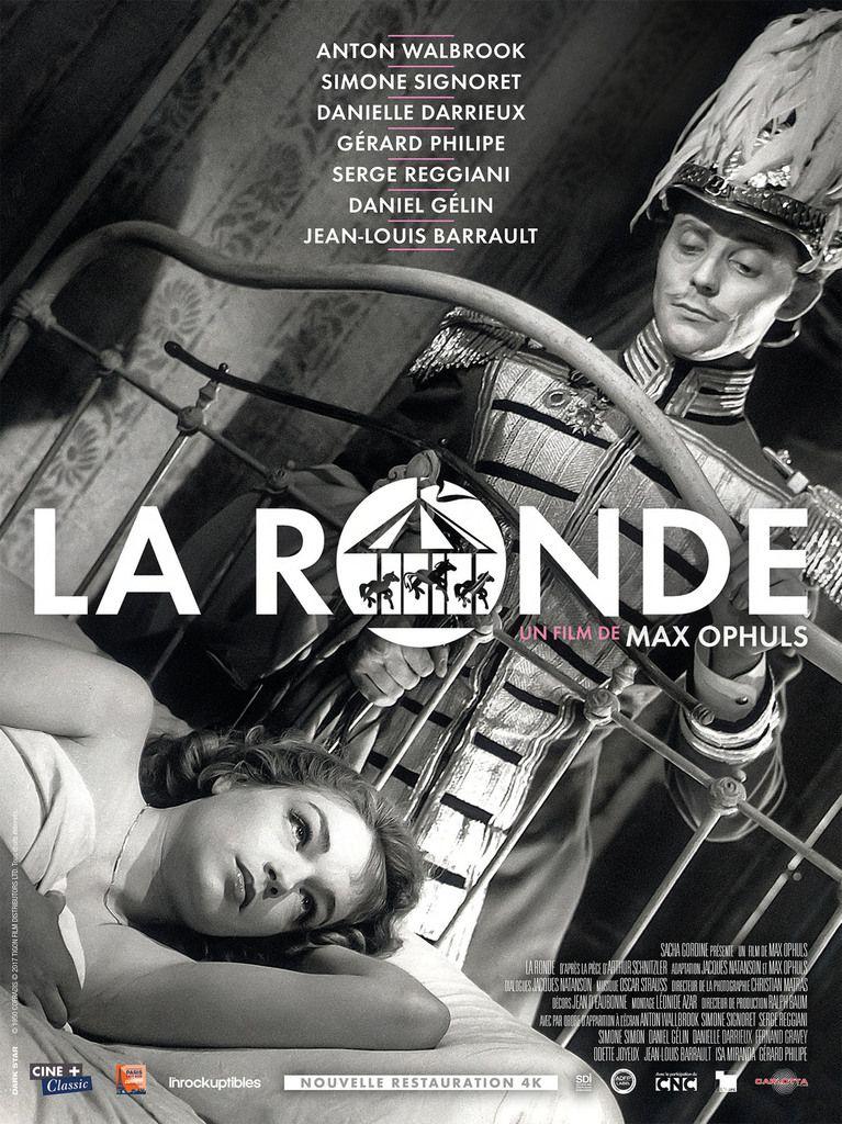 """LA RONDE"" DE MAX OPHULS: DEMAIN AU CINEMA !"