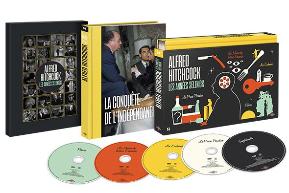 """ALFRED HITCHCOCK: LES ANNES SELZNICK"", COFFRETS ULTRA COLLECTOR !"