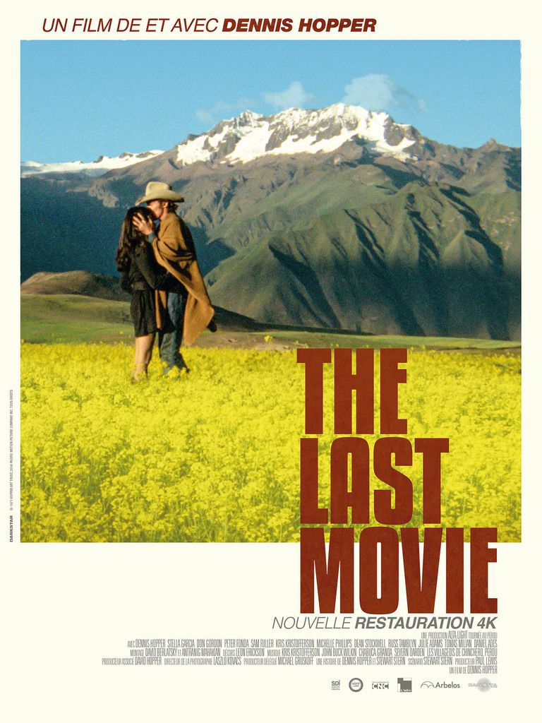 """THE LAST MOVIE"": EN VERSION RESTAURÉE 4K, CET ÉTÉ!"