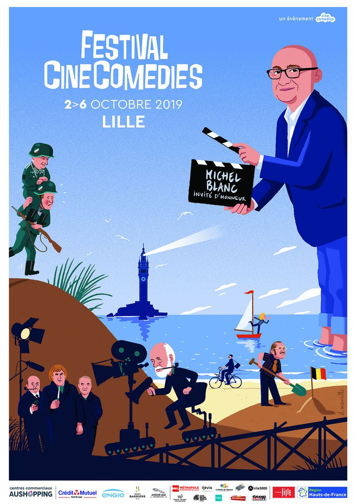 FESTIVAL CINECOMEDIES 2019, DU 2 AU 6 OCTOBRE !