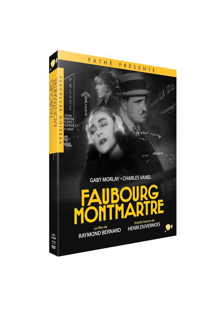 """""""FAUBOURG MONTMARTRE"""", EN BLU-RAY LE 27 NOVEMBRE 2019"""
