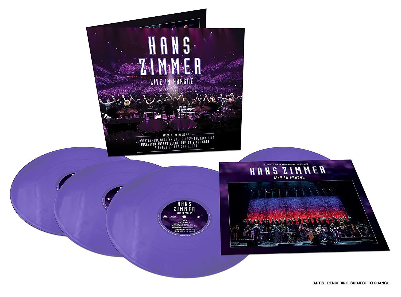 """""""HANS ZIMMER - LIVE IN PRAGUE"""", ÉDITION LIMITÉE QUADRUPLE VINYLES COLORÉS"""