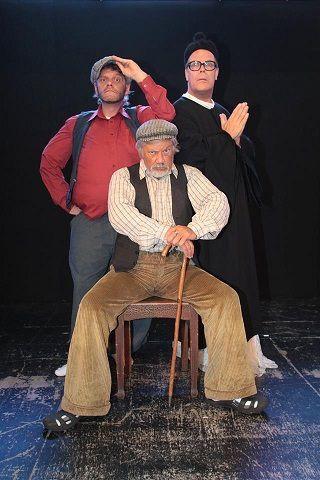 Coup de Théâtre (notre nouvelle rubrique): Le Vieux Bleu