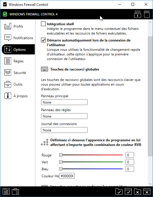 pare feu windows 8 bloquer application