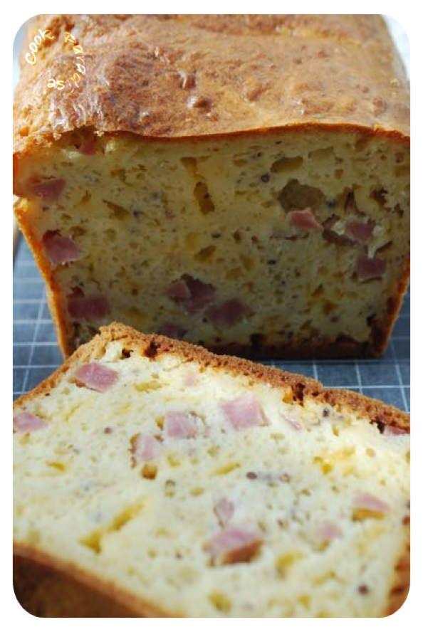 Cake apéritif  CH'Ti (Thermomix ou sans)