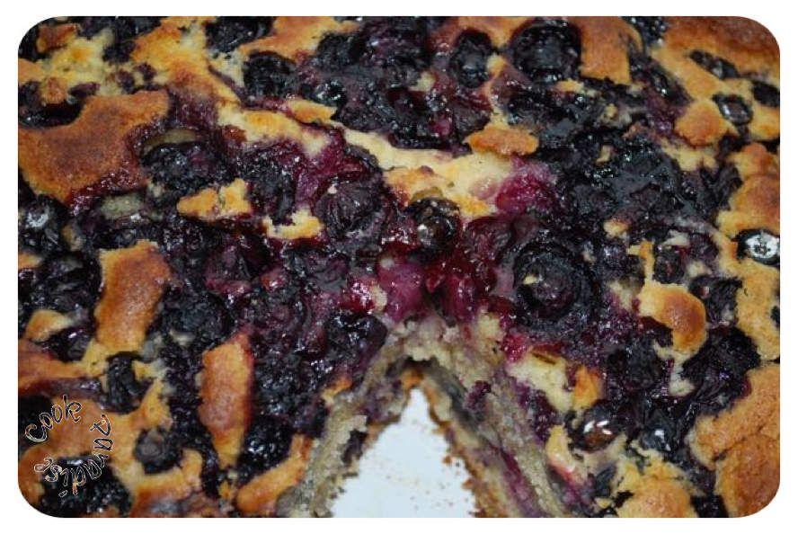 Gâteau aux blueberries et citron (bleuets ou myrtilles)  RECETTE USA