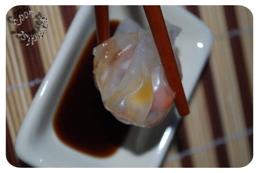 Shumaï porc, crevettes et menthe - nouvel an Chinois (cuisson panier vapeur COOKÉO)