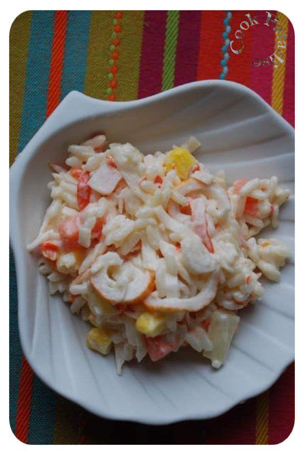 Salade Alaska (la canicule arrive)