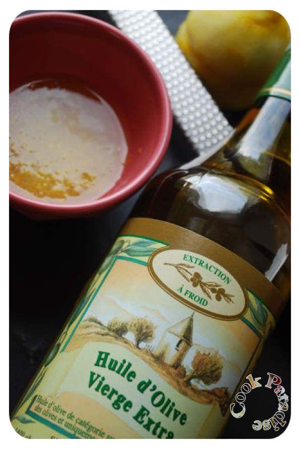 Avec une excellente huile de Bandol (merci à mon amie)