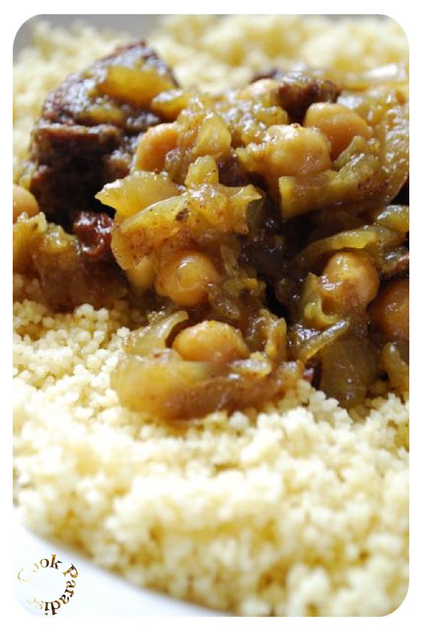 Couscous Tfaya cookéo