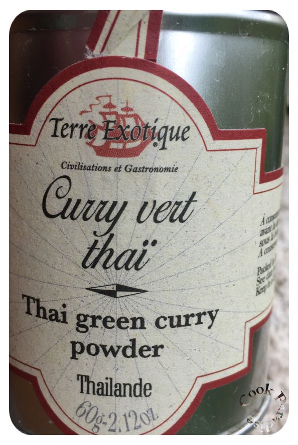 Terre exotique Curry Thaï poulet Cookéo