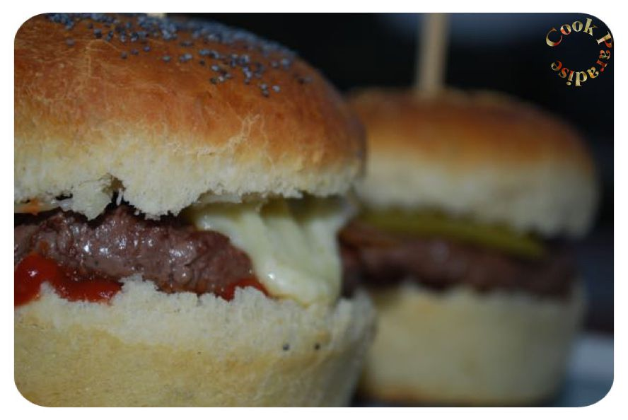 6 pains burgers briochés