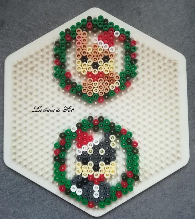 Perle à repasser : Chiens de Noël