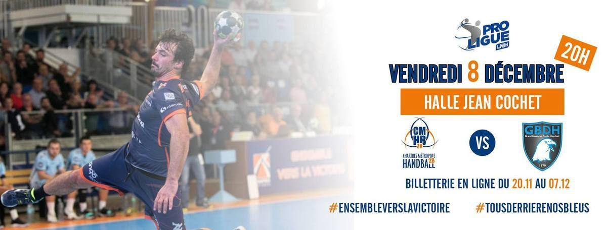 SORTIE AU MATCH DE HANDBALL DE PROLIGUE VENDREDI 8 DECEMBRE