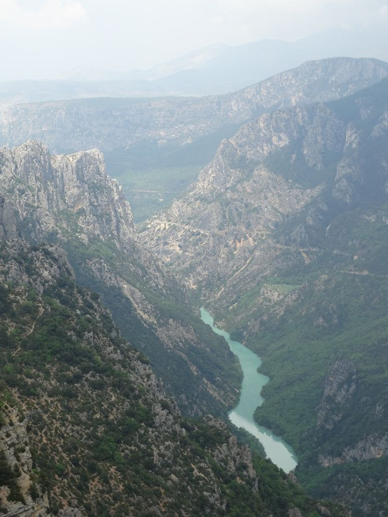 Canyon du Verdon, corniche sublime, 83, France