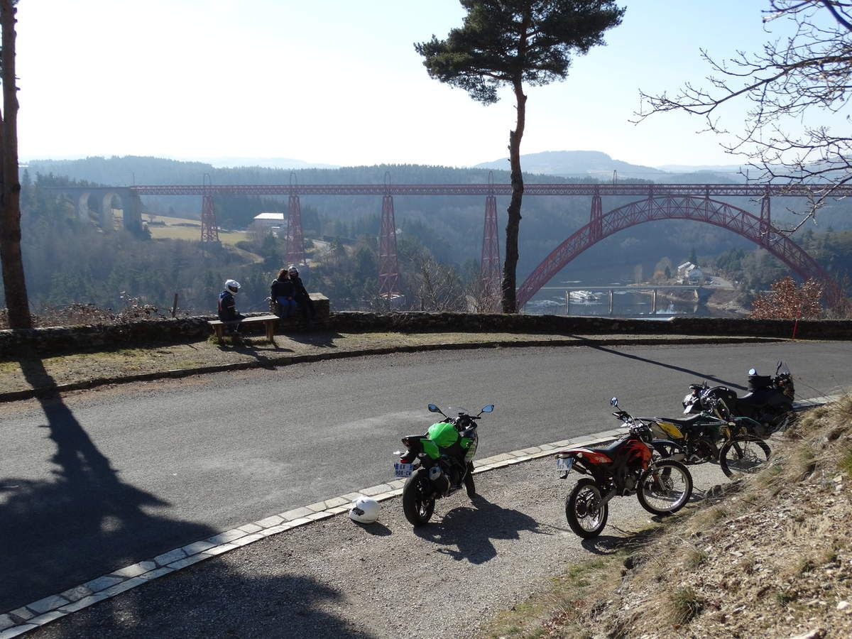 Viaduc de Garabit, Cantal, France