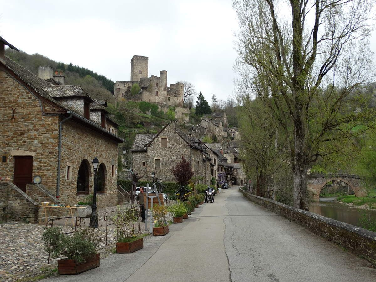 Village de Belcastel, Aveyron, France