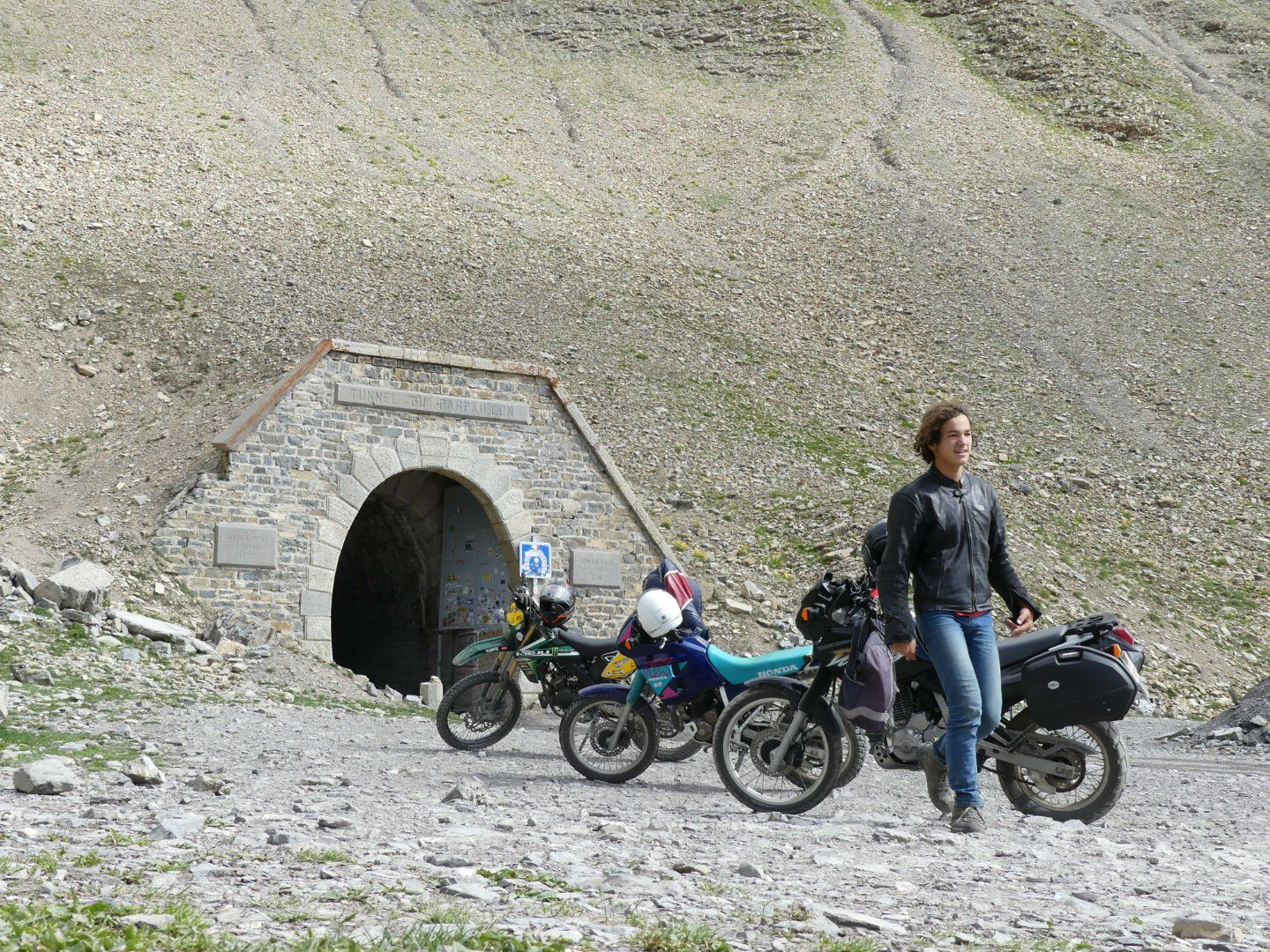 Montée du col/tunnel du Parpaillon, Hautes-Alpes, France