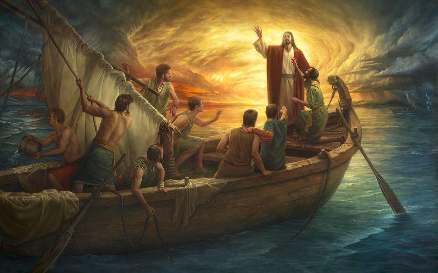 JÉSUS-CHRIST ET LA TEMPÊTE