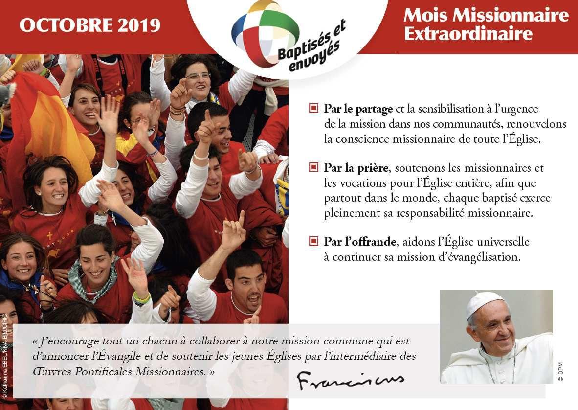 EST-IL VALIDE AUJOURD'HUI LA MISSION CATHOLIQUE?