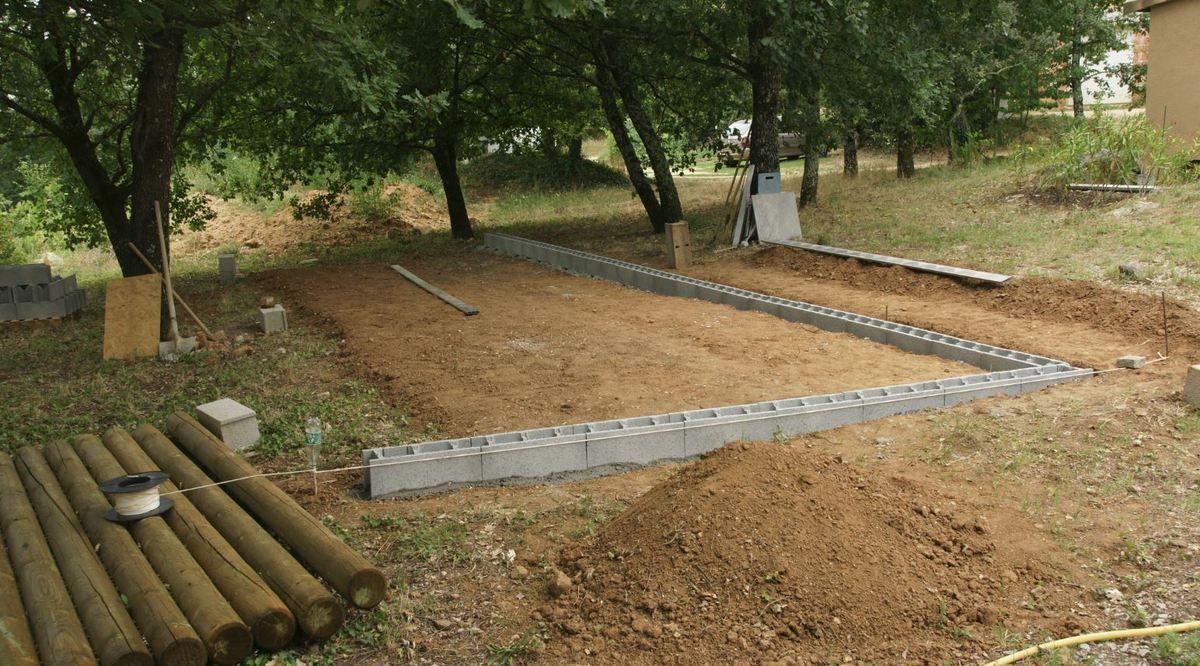 Dimension Terrain De Petanque Maison construction d'un terrain de pétanque - le blog de richard 68