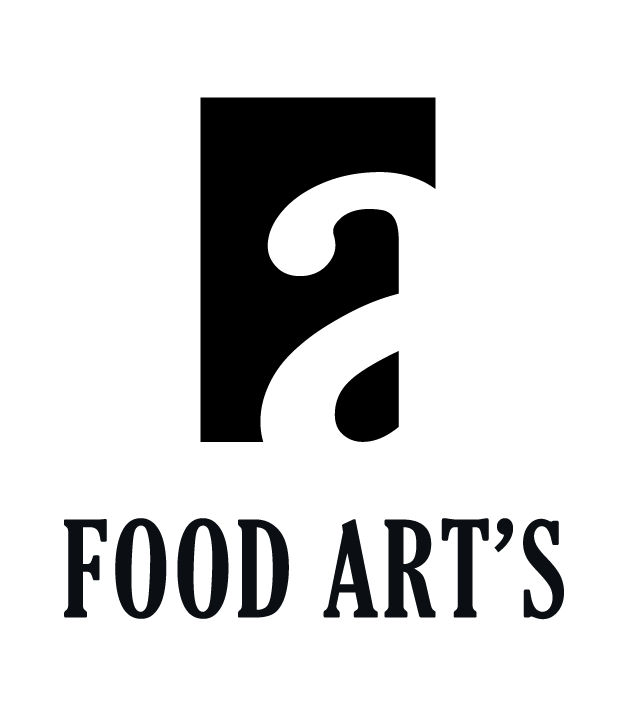Logo Food Art's conçu par David Pedaloo