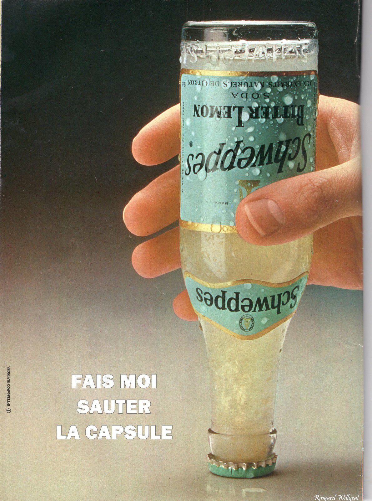 SCHWEPPES : AH LES PUBS DES ANNEES 1980