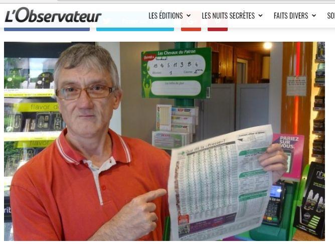 MON CLASSEMENT AU JOURNALIER AU CHAMPIONNAT DE FRANCE DES PRONOSTIQUEURS