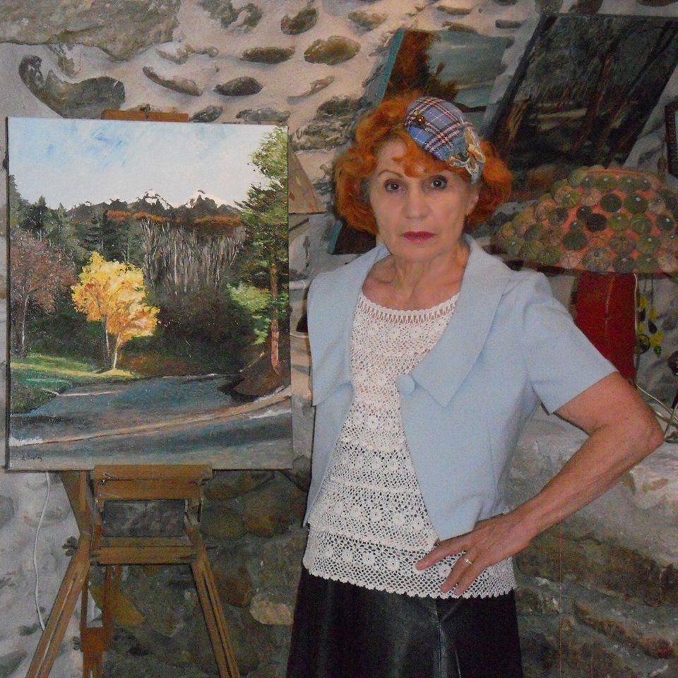 VOLONNE    Elyane Boulet-Gueguen, artiste volonnaise atypique !