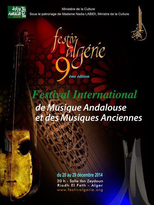 9ème édition du festival international de musique andalouse & des musiques anciennes