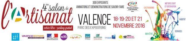 Salon de l'artisanat de Valence 2016