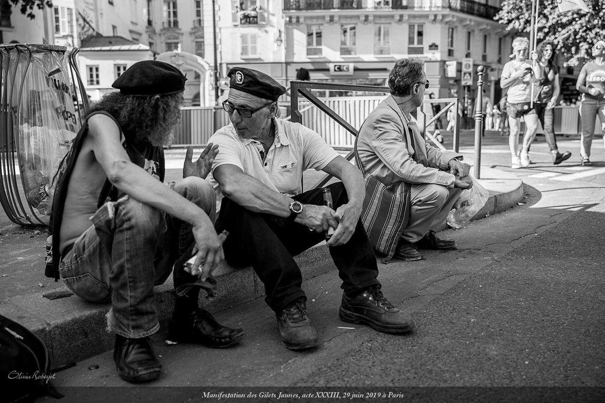Paris, manifestation du 29 juin 2019 des gilets jaunes, Acte XXXIII