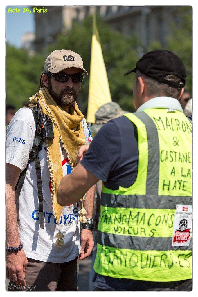 Paris, manifestation du 06 juillet 2019 des gilets jaunes, Acte 34