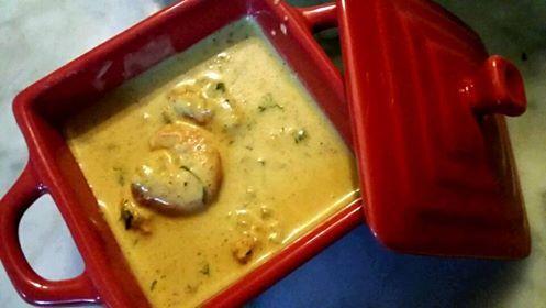 crevettes au lait de coco curry de pauline