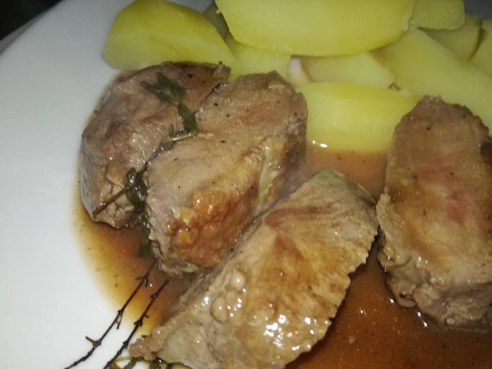 magret de canard sauce au miel de mélodye