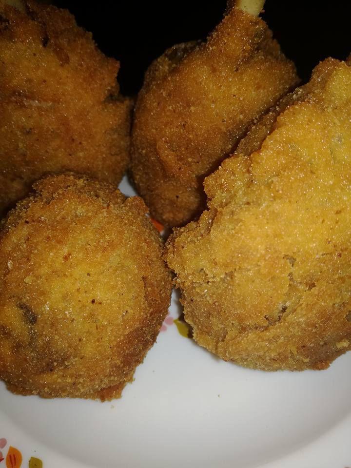croquettes de pilons de poulet