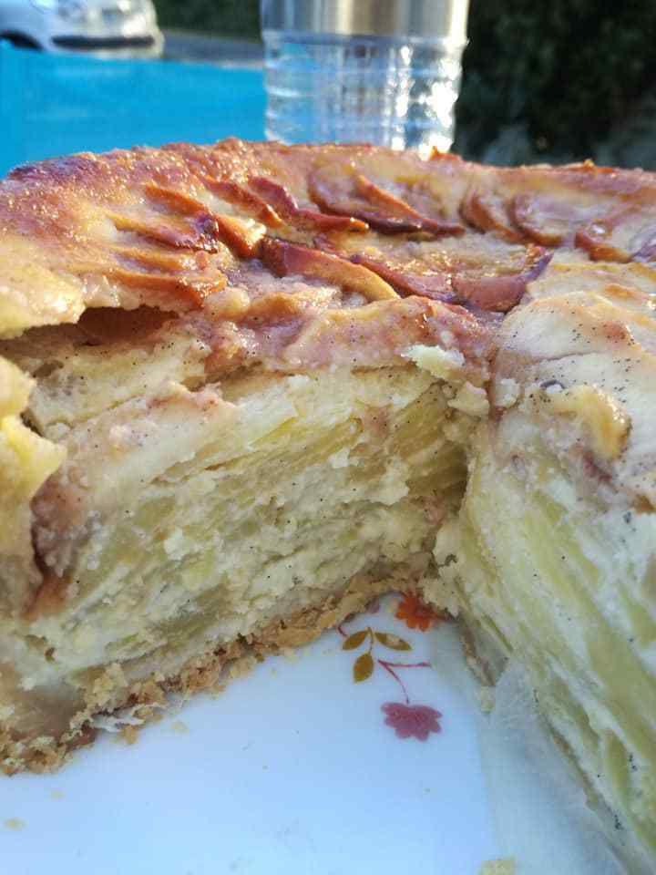 tarte grand mère aux pommes