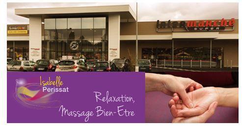 Info bien-être...par ici! Isabelle Perissat, masseuse qui intervient au Ploreau pour les résidents, vous invite!
