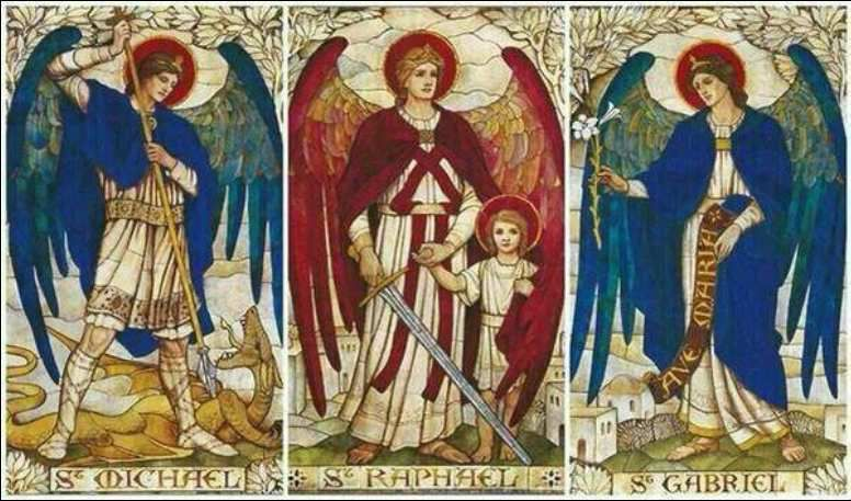 29 septembre : fête des saints archanges Michel, Gabriel et Raphaël